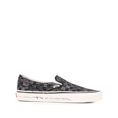 Vans x Jim Goldberg TV Static slip-on productafbeelding
