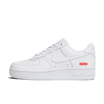 Supreme X Nike Air Force 1 'White' productafbeelding