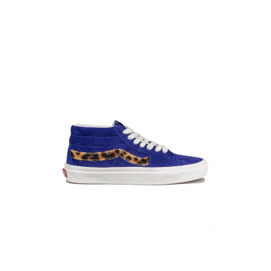 Vans Sk8-Mid Suede Royal Blue Calf productafbeelding