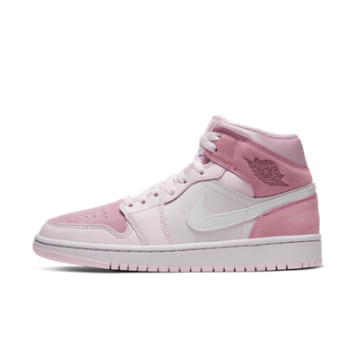 Air Jordan 1  WMNS Mid 'Digital Pink' productafbeelding