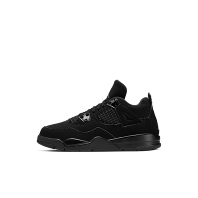 Air Jordan 4 Retro PS 'Black Cat' productafbeelding