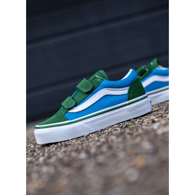 Vans Old skool-V green/blue  PS productafbeelding