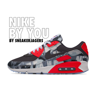 Nike Air Max 90 Premium By You productafbeelding