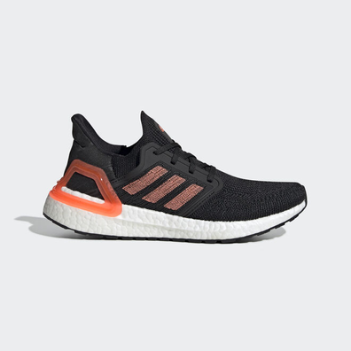 adidas UltraBOOST 20 W Core Black/ Signature Coral/ Ftw White productafbeelding