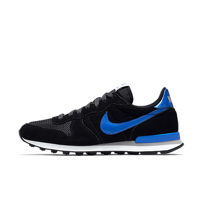 "Nike Internationalist Leather ""Black/Hyper Cobalt/Anthracite"" productafbeelding"