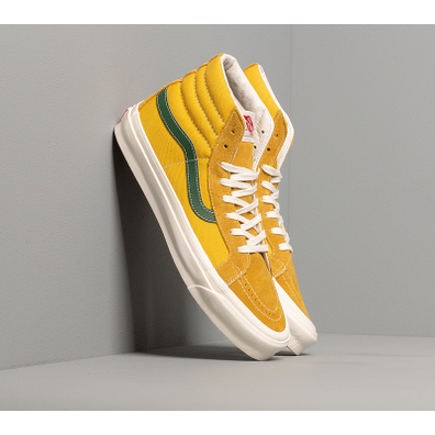 Vans OG Sk8-Hi LX (Suede/ Canvs) Yellow productafbeelding