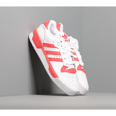 adidas Rivalry Low W Ftw White/ Ftw White/ Shock Red productafbeelding