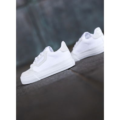Adidas Continental Vulc White/White TS productafbeelding