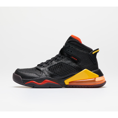 Jordan Mars 270 (GS) Black/ Black-Team Orange-Amarillo productafbeelding