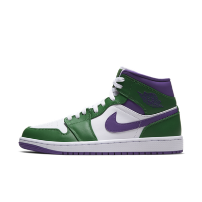 Air Jordan 1 Mid 'Incredible Hulk' productafbeelding