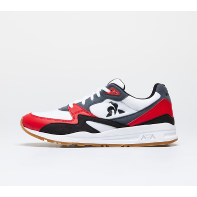 le coq sportif R800 Optical White/ Pure Red productafbeelding
