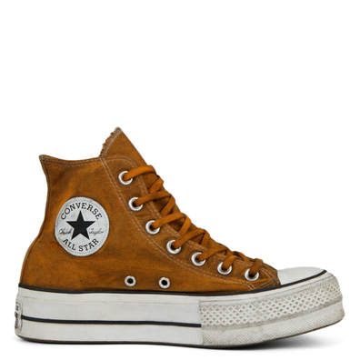Women's Distressed Color Platform Chuck Taylor All Star High Top productafbeelding
