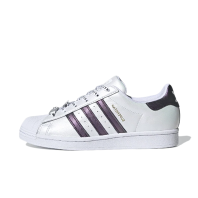 adidas Superstar 'White/Purple' productafbeelding
