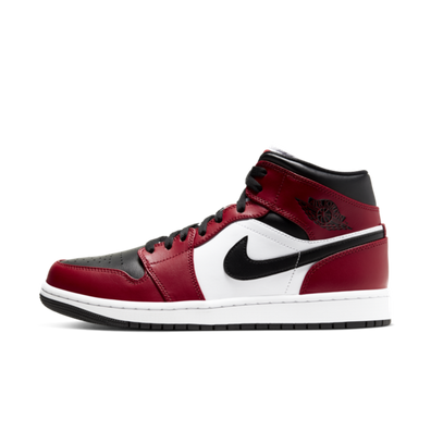 Air Jordan 1 Mid 'Chicago Black Toe' productafbeelding