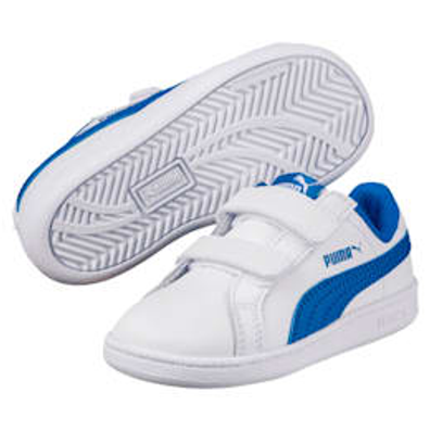 Puma Smash Leather V Ps Kids Trainers productafbeelding