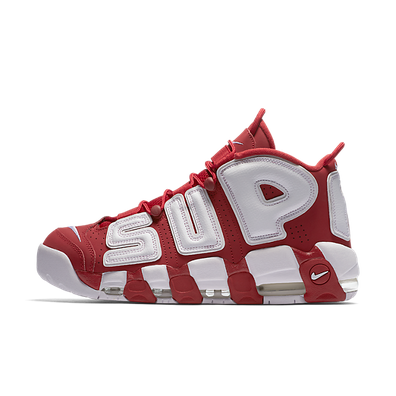 """Nike Air More Uptempo Supreme """"Suptempo"""" Red productafbeelding"""