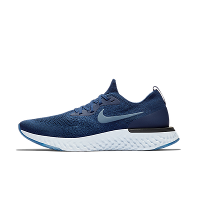 Nike Epic React Flyknit College Navy Diffused Blue productafbeelding