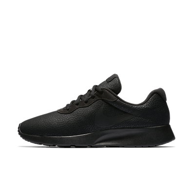 Nike Tanjun Premium Black Leather productafbeelding