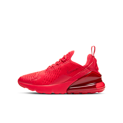 Nike Air Max 270 University Red (GS) productafbeelding
