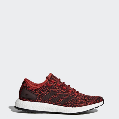 adidas Pure Boost Tactile Red Dark Burgundy-Black productafbeelding