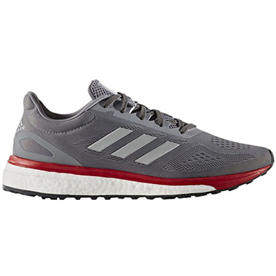 adidas Response LT Sonic Drive Grey Red productafbeelding