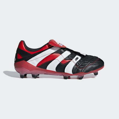 adidas Predator Accelerator Firm Ground Cleat Black White Red productafbeelding