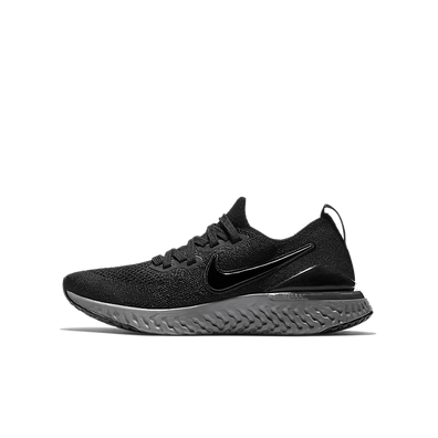 Nike Epic React Flyknit 2 Black Anthracite (GS) productafbeelding