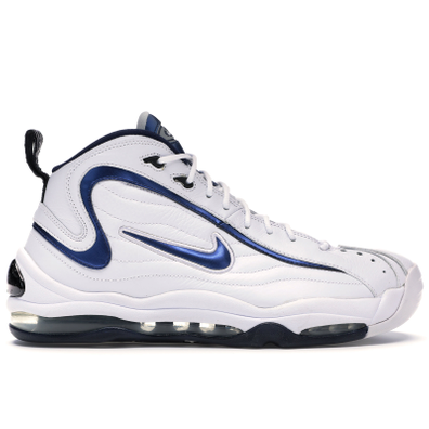 Nike Air Total Max Uptempo White Midnight Navy (2009) productafbeelding