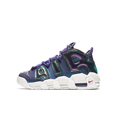 Nike Air More Uptempo Iridescent Purple (GS) productafbeelding