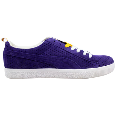 Puma Clyde X Undefeated Gametime Violet/White-Team Yellow productafbeelding