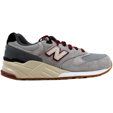 New Balance 999 Riders Club Grey/Red productafbeelding