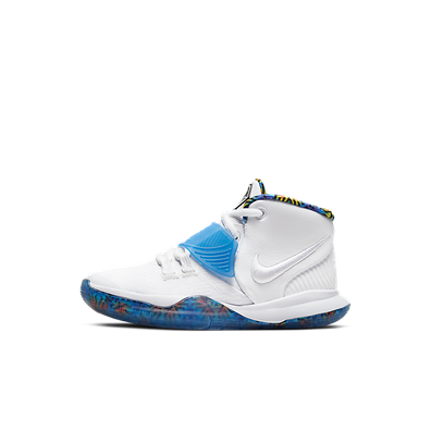 Nike Kyrie 6 White Sapphire Crimson (PS) productafbeelding