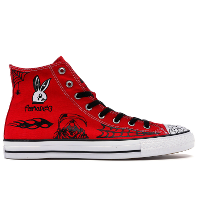 Converse Chuck Taylor All-Star Pro Sean Pablo Red productafbeelding