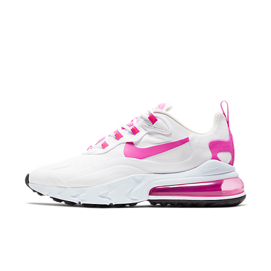 Nike Air Max 270 React White Fire Pink (W) productafbeelding