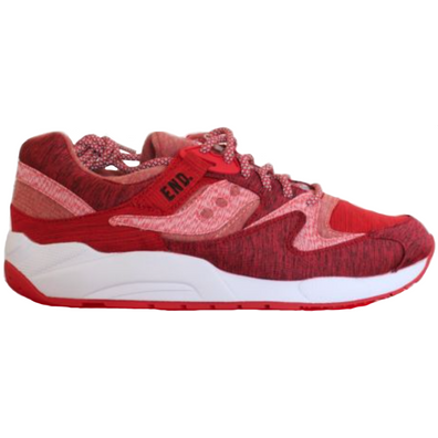 """Saucony Grid 9000 End """"Red Noise"""" productafbeelding"""
