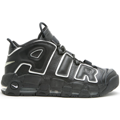 Nike Air More Uptempo Black White (2006) productafbeelding