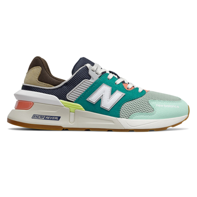 New Balance 997 Sport Teal Brown productafbeelding