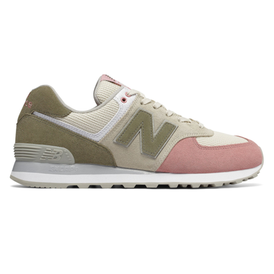 New Balance 574 Pink Olive productafbeelding
