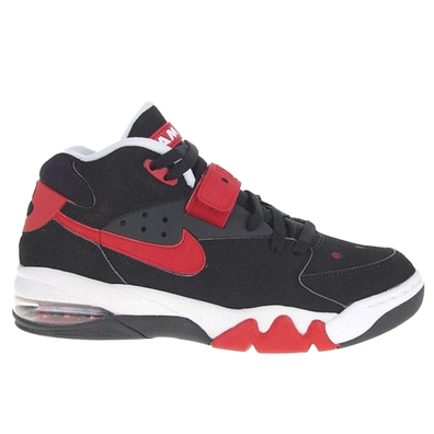 Nike Air Force Max Varsity Red Black productafbeelding