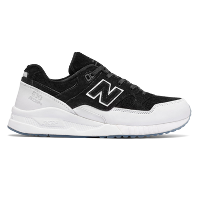 New Balance 530 Suede Black productafbeelding