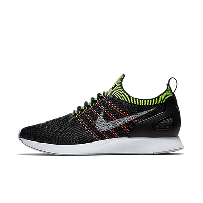 Nike Air Zoom Mariah Flyknit Racer Black Wolf Grey Volt productafbeelding