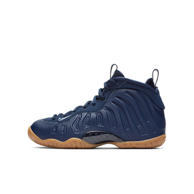Nike Air Foamposite One Navy Gum (GS) productafbeelding