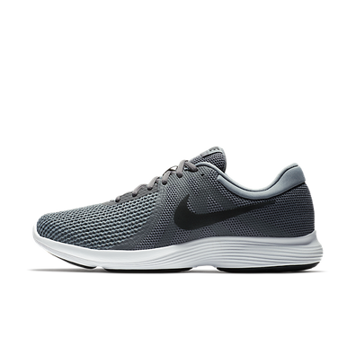 Nike Revolution 4 Dark Grey Black-Cool Grey productafbeelding