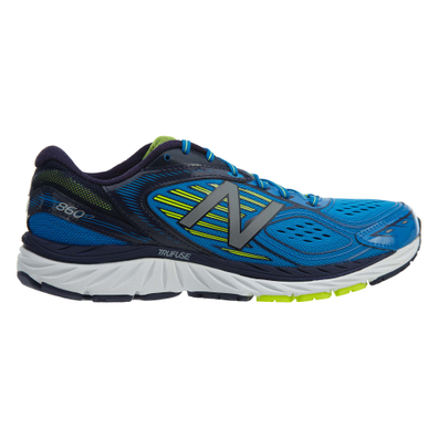New Balance Running Course Blue Yellow productafbeelding