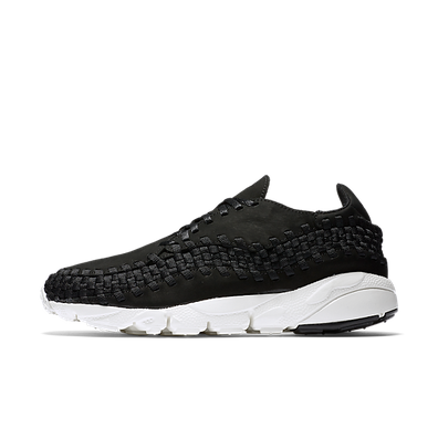 Nike Air Footscape Woven Black Sail productafbeelding