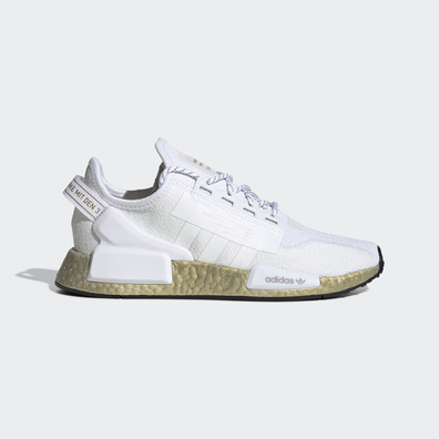 adidas NMD V2 Cloud White Gold Metallic (W) productafbeelding