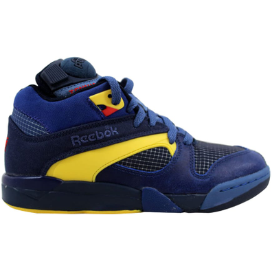 Reebok Court Victory Pump Navy/Club Blue-Yellow productafbeelding