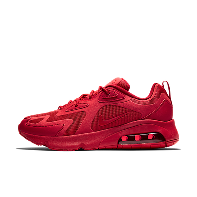 Nike Air Max 200 University Red productafbeelding