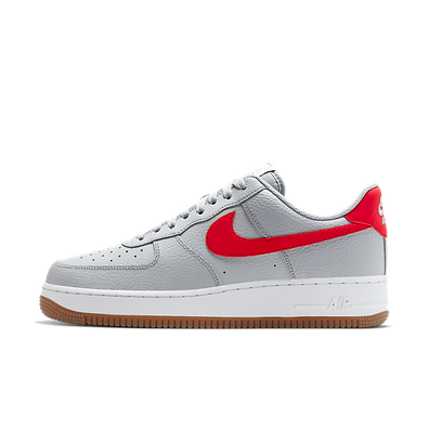Nike Air Force 1 '07 Wolf Grey University Red productafbeelding