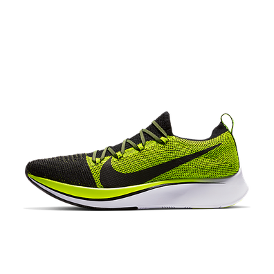 Nike Zoom Fly Flyknit Black Volt productafbeelding